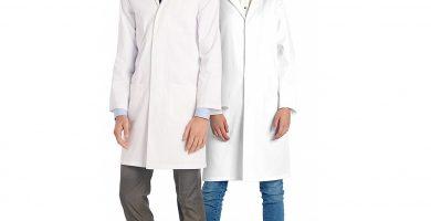 batas de laboratorio y para médico
